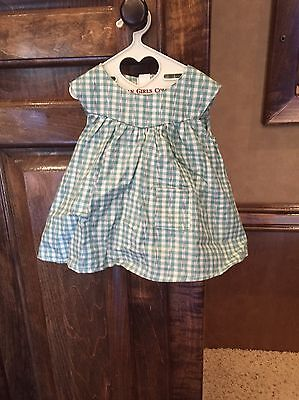 American Girl Addy Doll Retired Work Outfit Dress APRON ONLY