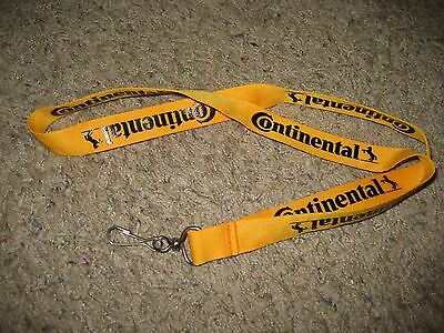"""Continental Tires, ID Lanyard/Badge Holder/Neck Strap/Keychain, 19"""" Long"""