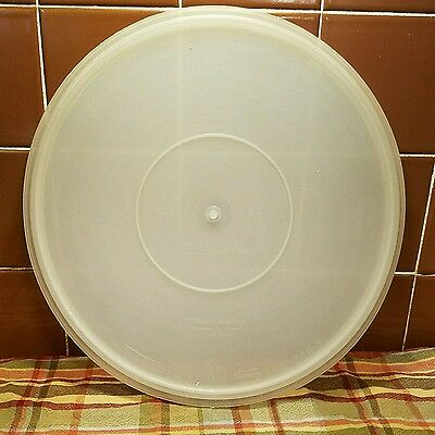 "Vintage Tupperware Large Lid/ Seal #224-3 Millionaire Line 12"" Replacement Seal"