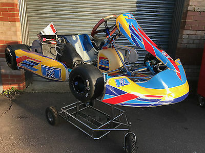 2014 Otk Alonso Tony Go Kart Chassis With Rotax Max Engine  - Rotax