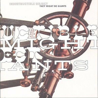 Indestructible Object - They Might Be Giants (2004, CD NEU)