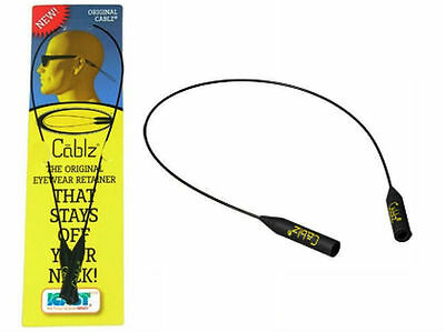 "CABLZ Eyewear Retainers for Sunglasses | ORIGINAL Black 14"" XL 