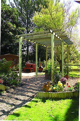 Wooden Traditional Pergola by Grange - GARDEN STRUCTURE - EX-DISPLAY