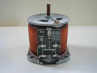 OHMITE Variable Transformer VARIAC 120 volts 10 amps Output 0 - 140V  New