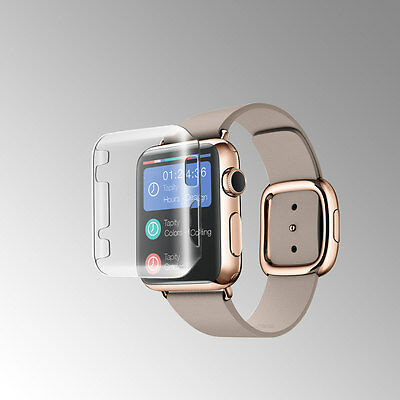 Clear Ultra Thin Snap-On Stratch Proof Case Cover For Apple Watch 38Mm