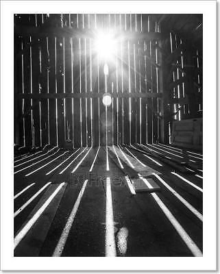 View From Inside Old Barn Art Print Home Decor Wall Art Poster C