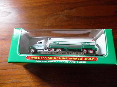 Mini HESS Tanker Truck - 1998 - 1st in series of mini ~ Tracker Trailer Trucks