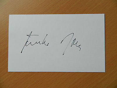 Gunther Rall JG52 Luftwaffe signed card France Battle of Britain Eastern Front