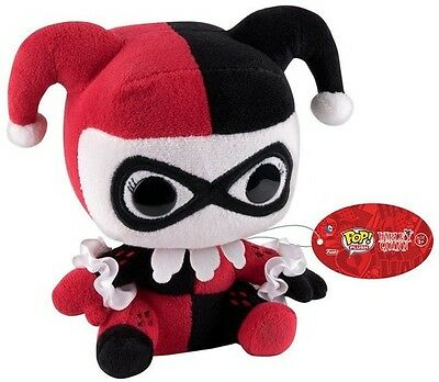 Heroes - Harley Quinn - Funko Pop! Plush Regular (2016, Toy NEU)