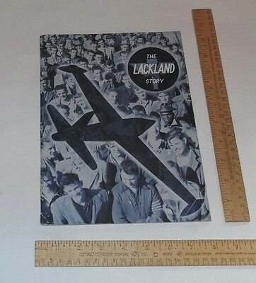 The Lackland Story - copyright 1951 - illustrated paperback Booklet or Wrap