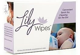 Lily Wipes for LilyPadz Nursing Pads - Breast Feeding