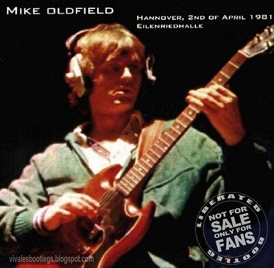 Mike Oldfield - ADVENTURA IN HANNOVER 81 - 2 CD
