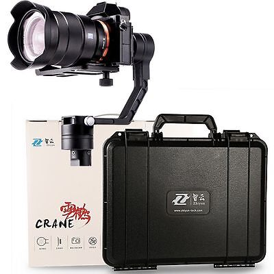 UK Stock Zhiyun Crane 3 Axis Brushless Handheld gimbal for DSLR/Mirrorless