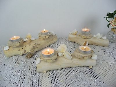 Wedding Table Centrepieces Shabby Chic Driftwood Rustic Centre Pieces Decoration