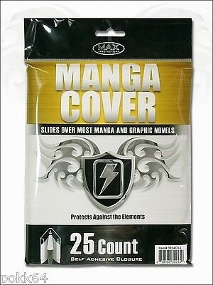Manga Cover Max Protection Sachet de 25 Couvertures pour Mangas bag 302450