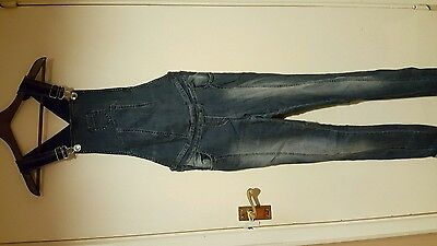 maternity jeans dungarees small