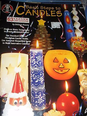 Basic Steps To Candles Making Book
