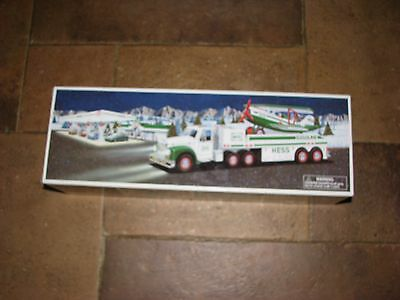 2002 Hess Toy Truck and Airplane in the box