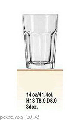 New Simplicity Transparent Glass 375ML/12.7OZ Martini Shaker Bartender Tools Cup
