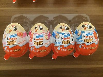Kinder Joy Motiv-Eier New Year Special aus China, Ferrero 2017