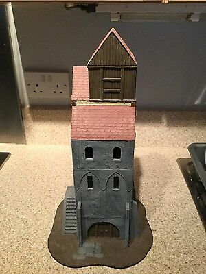 Warhammer watch tower scenery