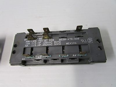 ARK-LES 4 Buttons Push Button Wash Cycle Switch Model 754 90 027