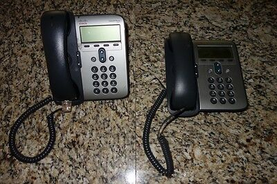 Lot of 2 Cisco 7900 Series IP Office Phones CP-7911G