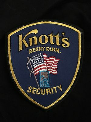 Knotts Berry Farm Security Patch
