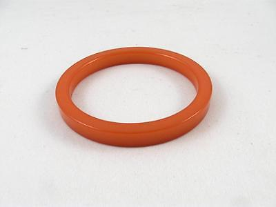 Vintage Butterscotch Bakelite Catalin Bangle Bracelet