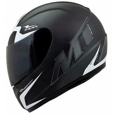 MT Matt Black Thunder Squad Motorcycle Motorbike Full Face Crash Helmet New
