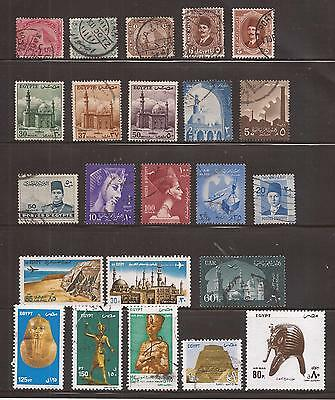 Egypte -  Lot De Timbres  - Lot Of Stamps