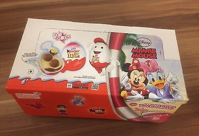 Kinder Joy 8er Pack Minnie Mouse Indien Ferrero 2016