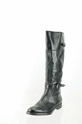 Enzo Angiolini Eero Black Leather Knee High Boots Women's Shoes Size 9 M NEW