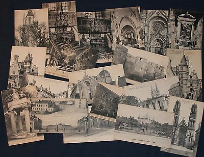 (38) Angers, France Postcards