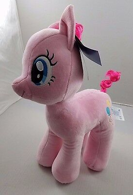 NWT BUILD A BEAR MLP My Little Pony Pinkie Pie Stuffed Pink Horse Balloons BABW