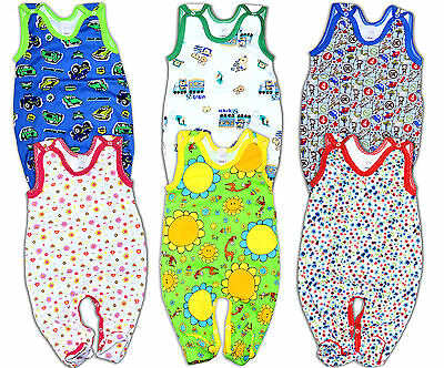 Romper 100% Cotton Babygrow 6 patterns NEWBORN 0-3m 3-6m 6-9m