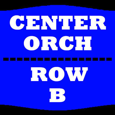 2 Tix Gabriel Iglesias 3/4 Orch Center Row B Old National Events Plaza
