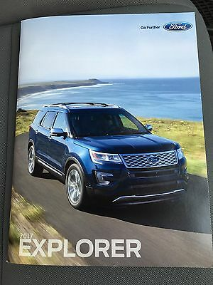 2017 Ford Explorer 30-page Original Sales Brochure