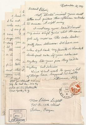 WWII Letter. 91st Infantry Division. Italy 1944. Brother Missing in Action.