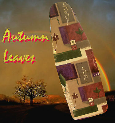 """NEW """"AUTUMN LEAVES"""" Ironing Board Cover -  Perfect Gift!"""