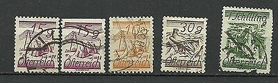 Austria 1925 Used Stamps