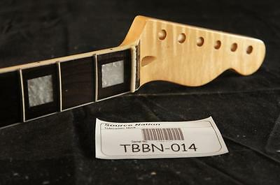 Flamed Maple with Bound Rosewood Fretboard Tele Neck. Fits Fender Telecaster!