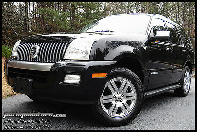2007 Mercury Mountaineer Premier Sport Utility 4-Door 07 3rd Row Seating Sunroof Leather PowerAll Towing Package 2-Owners Low Reserve!