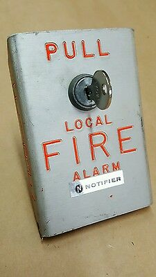 Vintage Fire Alarm Pull Station - Notifier BNG-1
