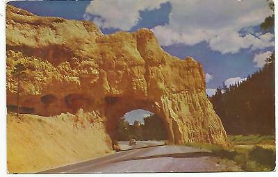 Red Canyon, Bryce Canyon Highway,, Utah, Mailed In 1955,