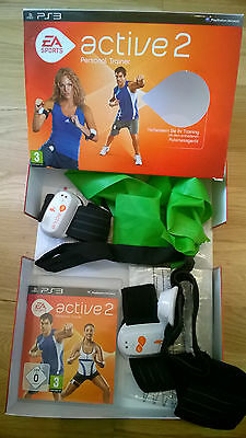 SONY PS3 EA Sports Active 2 Personal Trainer PlayStation 3 Fitness Work Out OVP