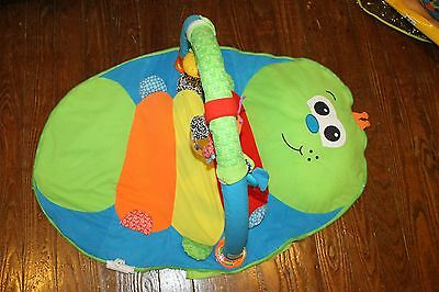Infantino Wiggle Worm Caterpillar Baby Gym Floor Play Mat Fold and Go