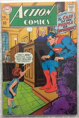 Action comics #359 (1st series 1968) FN condition. 48 year old classic.