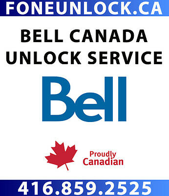 Unlock Bell Phones - Samsung, Sony, BlackBerry, HTC, LG, Huawei within 48 HOURS