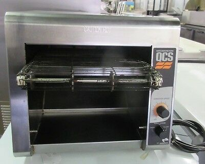 Star QCS-1-350 Compact Two Slice Countertop Conveyor Toaster